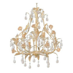 Crystorama - Mini Chandelier - Athena collection offers casual yet elegant, whimsical and chic chandeliers and wall sconces.