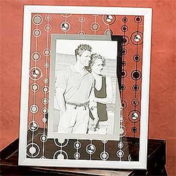 Artico - Glass W/ Jewel Design Picture Frame Decor Collectible Photograph - This gorgeous Glass W/ Jewel Design Picture Frame Decor Collectible Photograph has the finest details and highest quality you will find anywhere! Glass W/ Jewel Design Picture Frame Decor Collectible Photograph is truly remarkable.