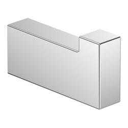 "WS Bath Collections - Asio 1375.001.00 Single Bathroom Hook - Asio 1375.001.00, 1.6"" x 0.9"", Bathroom Hook in Polished Chrome"