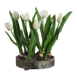 Silk Plants Direct - Silk Plants Direct Tulip (Pack of 1) - Pack of 1. Silk Plants Direct specializes in manufacturing, design and supply of the most life-like, premium quality artificial plants, trees, flowers, arrangements, topiaries and containers for home, office and commercial use. Our Tulip includes the following: