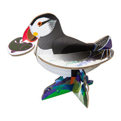 Puffin Pop-Out Cards