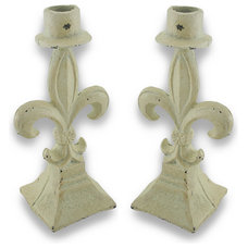 Traditional Candleholders by Zeckos