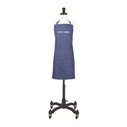 KAF Home - Chef in Training Kid's Apron - Give your kitchen helper a chance to shine with this fun apron. Its enjoyable, simple design and bold color makes this the perfect apron for the chef-in-the-works. Front utensil pocket for convenience. D-ring neck tie for easy adjustment and comfortable fitting. Machine washable for easy cleaning.