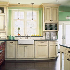 Victorian Kitchen   Color of the Month, May 2014: Hemlock   This Old House
