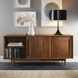 Grove Cabinets - Sure, you can hunt antique markets and thrift stores for a Mid-Century Modern console, but odds are it won't be in nearly as good of condition as this one. Plus, the craftsmanship of this Pennsylvania-made, sure-to-be-heirloom can't be beat.