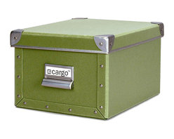 Cargo - Cargo Naturals Media Box - Even your peskiest clutter is no match for this hardworking box. Sturdy and smart, it's the perfect place to organize your bits and pieces, knickknacks, odds and ends, doodads … you get the idea. Simply fill it up, stack it up and consider your space tidied up.