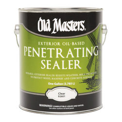 Old Masters - Old Masters 1 Gallon Penetrating Sealer (2 Pack) (92601) - Old Masters 92601 1 Gallon Penetrating Sealer (2 Pack)