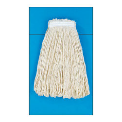 "UNISAN - 32 OZ MOP HEAD-RAYON - Four-ply, cut-end yarn. Absorbent natural cotton fiber for general mopping. Rayon has immediate absorbency and wet release properties ideal for finishing. Cotton/synthetic blend absorbs 5.5 times its weight in water. Standard heads use clamp style mop handles; saddleback heads use clamp or gripper style handles; lieflat heads use lieflat screw-in handles (all sold separately). 12 mop heads per case.. . . . Premium Standard Head. Rayon 32-oz.. Full-weight premium fiber.  1 1/4"" polyester headband.. 32-oz. Mop Size. Cut-End Mop Heads. Dimensions: Height: 0.51925, Length: 0.51925, Width: 0.51925. Country of Origin: US   CAT: Mops, Brooms & Brushes Mops & Equipment Cut-End Mop Heads"