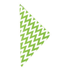 """Pine Cone Hill - PCH Chevron Green Napkin Set of 4 - PCH delivers simple style to the dining table with Chevron cloth napkins. Layer this classic zig zag pattern with table linens in other patterns and colors to create a range of contemporary looks. 22"""" Square; Set of 4; 50% cotton, 50% linen; Designed by Pine Cone Hill, an Annie Selke company; Machine wash, tumble dry low"""