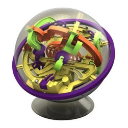 PlaSmart Perplexus Maze Game - This little spherical ball maze is called Perplexus. I think adults would like it just as much as children would. I could totally see myself (and my husband) getting sucked in and playing with this thing for hours. It has three different mazes and 100 challenges, and if you conquer all that, there are three other Perplexus balls you can buy.