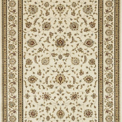 "Loloi Rugs - Loloi Rugs Welbourne Collection - Ivory / Ivory, 2'-3"" x 3'-9"" - The Welbourne Collection features a more traditional design with up-to-date colors and styles. Most notably, its densely woven construction contributes to the superior quality of this new power-loomed collection. There is a variety of sizes and color combinations available."