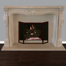 Mediterranean Fireplace Mantels by Your Mantel Company Inc.