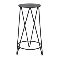 Plant Stand and Deliver - Short - Sure, people need stools to sit on. But so do plants. If you adore your greenery, give it a good life. This metal plant stand will give your flora the love they deserve.