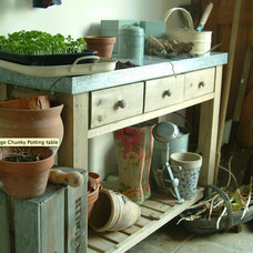 Traditional Potting Benches by Garden Trading