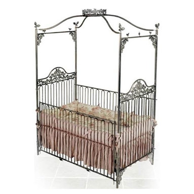 Garden Jewel Iron Baby Crib - While this crib is rather expensive, why not splurge on the one thing that will be the most stunning piece, especially if you plan on having a few bambinos? This will get tons of compliments and praise. It's so exquisite and extraordinary.