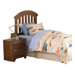 Standard Furniture - Standard Furniture Parker 3-Piece Kids Headboard Bedroom Set - Parker bedroom offers the perfect solution for rooms that have a smaller footprint, yet still need lots of storage.