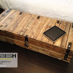 Reclaimed Storage Trunk or Chest - oephoto