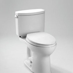 "TOTO - TOTO ST454ER#01 Drake II Right Handed Toilet Tank with Trim, Cotton White - TOTO ST454ER#01 Drake II Right Handed Toilet Tank with Trim, Cotton White High profile two-piece toilet. High efficiency (1.28Gpf/4.8Lpf) Double Cyclone flushing action. Tank cover, fittings, polished chrome trip lever included. TOTO ST454ER#01 Drake II Right Handed Toilet Tank with Trim, Cotton White Features: Sleek high profile two-piece design Double Cyclone Technology Powerful, quiet flush every time Wide, 2-1/8"" computer designed trapway Large water surface Universal Height; ADA height compliant with seat Saves 20% water over 1.6gpf toilets. *Image shown may vary by color, finish, or material Tank ONLY"
