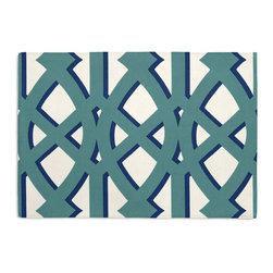 Teal Trellis Custom Placemat Set - #VALUE!