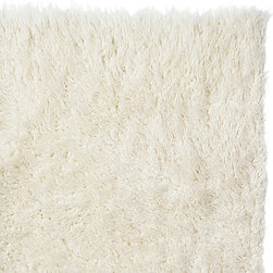 Super Area Rugs - Pure Eco-Friendly Wool Flokati Shag Rug, White, 6' X 9' - When you buy a Flokati Rug from SuperAreaRugs.com, you can rest assured you will be getting the finest in Greek Flokati Rugs. We are a direct import of the famous shag rug known as the Flokati rug. These wool shag rugs are made using centuries-old weaving processes that were used by ancient Greek warriors and sheep herders during the cold winter month. Hand-made from 100% New Zealand Wool, these rugs offer the softest feeling underfoot. The Flokati rug is very popular for apartments and studios as they help keep floor noise to a minimum. Other applications include living rooms, dining rooms and nursery rooms due to their unique fluffy softness and natural wool material.