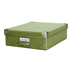 Cargo - Cargo Naturals Stationery Box - It may be called a stationery box, but this versatile storage container can handle anything you throw into it: Documents, menus, photos, your kids' artwork — you name it. Durable, stackable and available in five colors, it's just the thing to get your house in order.