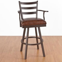 Clinton 26 in. Counter Stool - With Arms - Swivel