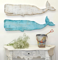 eclectic artwork by Cottage & Bungalow