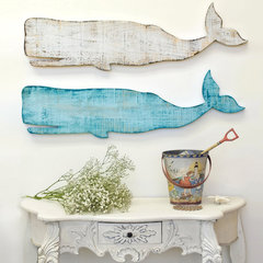 eclectic artwork by Cottage &amp; Bungalow