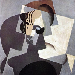"""Juan Gris Portrait of Josette - 16"""" x 20"""" Premium Archival Print - 16"""" x 20"""" Juan Gris Portrait of Josette premium archival print reproduced to meet museum quality standards. Our museum quality archival prints are produced using high-precision print technology for a more accurate reproduction printed on high quality, heavyweight matte presentation paper with fade-resistant, archival inks. Our progressive business model allows us to offer works of art to you at the best wholesale pricing, significantly less than art gallery prices, affordable to all. This line of artwork is produced with extra white border space (if you choose to have it framed, for your framer to work with to frame properly or utilize a larger mat and/or frame).  We present a comprehensive collection of exceptional art reproductions byJuan Gris."""