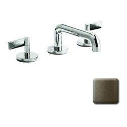 Kallista P24401-LV-GN Widespread Lavatory Sink Faucet Gun Metal -