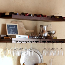 contemporary wall shelves by Pottery Barn