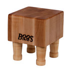 """John Boos - John Boos Gift Collection Maple Cutting Block, Maple, 6"""" - Whether you're looking for a little extra counter space or searching for a fun and funky serving vessel, this cutting block is the answer to all your problems. It's made to last from hard rock maple — and its smaller size makes it the perfect housewarming gift."""