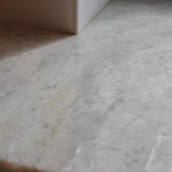 Classic White Inset Kitchen - Princess Quartzite, natural stone