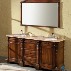 Traditional Bathroom Vanities And Sink Consoles by DecorPlanet.com