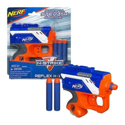 KOOLEKOO - Nerf N-Strike Elite Reflex Dart Blaster - Surprise your opponents and hit your target fast with this compact REFLEX IX-1 blaster! It's easy to conceal for a stealth assault, but don't let this powerful blaster's small size fool you: It's big on performance! Load your REFLEX IX-1 stealth blaster and get in the game!