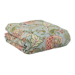 Home Decorators Collection - Custom Corded Comforter - Cozy up in our comfortable Custom Corded Comforter. Available in a variety of fabrics and colors that coordinate perfectly with our other custom bedding pieces, you can design your bedroom to fit your style. Available in a variety of colorful fabrics and designs. Hand or spot clean. 100% polyester fill. Made in the U.S.A.