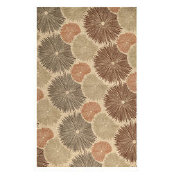 """Momeni Rug - Momeni Rug Elements 9'6"""" x 13'6"""" EL-35 Multi ELEMTEL-35MTI96D6 - The Elements Collection epitomizes glamorous contemporary living. Brilliant colors and modern patterns combine to create these one of a kind, hand finished rugs. A wide range of colors and styles makes the Elements Collection the perfect accent for the home with a dynamic, contemporary edge."""
