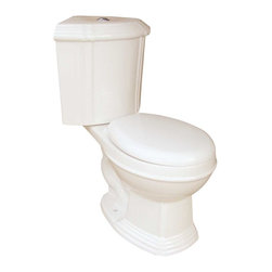 Renovators Supply - Corner Toilets Bone Corner Toilet Sheffield Dual Flush Round | 13763 - Corner Toilet with Dual Flush Technology: By using Dual Flush technology the EPA estimates homeowners save up to 25-000 gal. of water a year. How? Use 0.8 LOW flush for liquids & 1.6 HIGH flush for solid waste. Control your water usage to SAVE money & conserve water. Our G-Force high efficiency flush system technology let?s you flush only ONCE! Eliminate the need to double flush. Ergonomic Perfect Height & round bowl makes using it safe & puts less strain on your body. Includes SAFE & QUIET. EASY top flush plastic faux chrome button. Measures 31 in. H x 32 in. proj. x 12 in. rough-in x round.