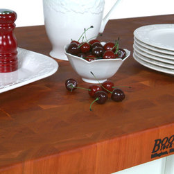 "John Boos - 2.25"" Thick Cherry End Grain Countertop - 25""W - Use our fast and easy online tool to compare looks and prices of different countertops. We also offer maple, walnut and oak. Standard and custom sizes."
