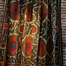 Vintage Suzani Throw -
