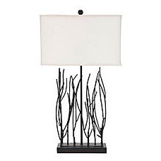 One Kings Lane - Style Your Bedroom - Wrought Iron Table Lamp