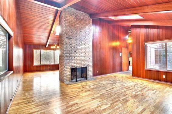 Wood paneling update ideas Ways to update wood paneling