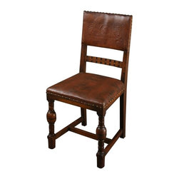 EuroLux Home - 1930 Accent Dining Chair Brown/Beige/Tan - Product Details