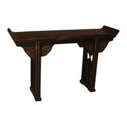 SOLD OUT!  Handmade Antique Prayer Table Lotus Design - $1,500 Est. Retail - $1, -
