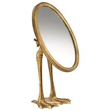 Contemporary Makeup Mirrors by Chachkies
