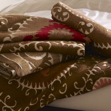 mediterranean throws by Pottery Barn
