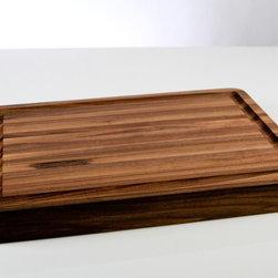 Walnut Cutting Boards - The Classic Bloc in a premium Walnut Finish.