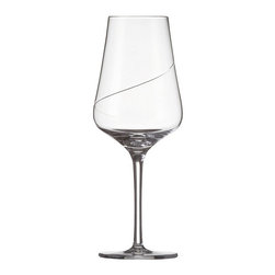 Frontgate - Set of Two Sensa Chardonnay Glasses - Designed exclusively by Schott Zwiesel. Sold in sets of six. Break resistant with added strength at the rim, bowl, and stem. The hardest, most brilliant crystal glass in the world. Remarkable clarity, brilliance, and luster. Each glass in our Sensa Stemware Collection is specifically designed to enhance the enjoyment of Chardonnay and Bordeaux wines. By replacing the lead content with titanium and zirconium, these refined glasses resist chips, cracks, and scratches. This technology creates lasting durability and longer life for the stemware, without compromising the aesthetic quality of the glasses. Tritan Crystal is used by renowned sommeliers, restaurants, cruise lines, and resorts worldwide. . . . . . Proven through independent testing to be fully dishwasher safe. No lead content. Made in Germany.