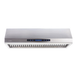 None - 30-inch Under Cabinet Range Hood - Allow your inner chef to run wild with the help of this sleek under cabinet range hood. This stainless steel range hood uses a digital display to offer a variety of fan settings to keep your kitchen cool and safe.