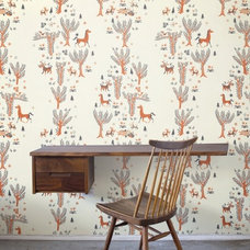 Eclectic Wallpaper by Design Your Wall